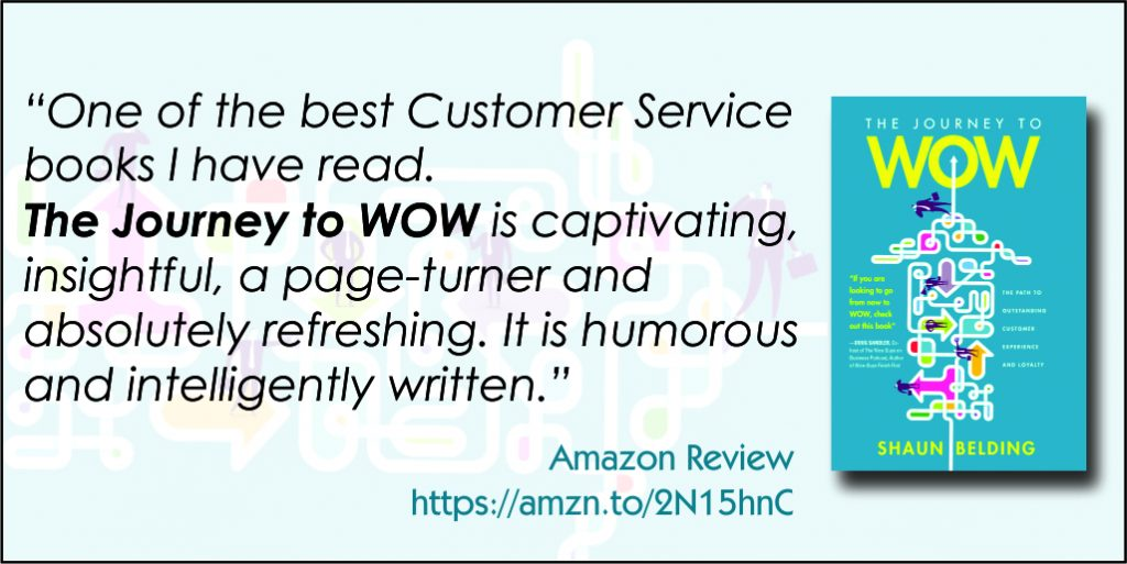 Journey to WOW - Customer Experience Book